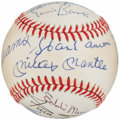 Autographs:Baseballs, 500 Home Run Club Multi-Signed Baseball (13 Signatures), PSA/DNA....