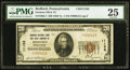 National Bank Notes, Bedford, PA - $20 1929 Ty. 1 Farmers NB & TC Ch. # 11188. ...