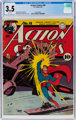 Action Comics #48 (DC, 1942) CGC VG- 3.5 White pages
