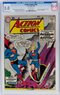 Silver Age (1956-1969):Superhero, Action Comics #252 (DC, 1959) CGC GD/VG 3.0 Off-white pages....