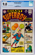 Silver Age (1956-1969):Superhero, Superboy Annual #1 (DC, 1964) CGC VF/NM 9.0 Cream to off-whitepages....