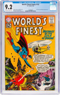 Silver Age (1956-1969):Superhero, World's Finest Comics #125 (DC, 1962) CGC NM- 9.2 Off-white towhite pages....