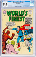 Silver Age (1956-1969):Superhero, World's Finest Comics #144 (DC, 1964) CGC NM 9.4 White pages....