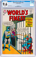Silver Age (1956-1969):Superhero, World's Finest Comics #145 (DC, 1964) CGC NM+ 9.6 White pages....