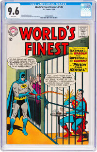 World's Finest Comics #145 (DC, 1964) CGC NM+ 9.6 White pages