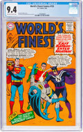 Silver Age (1956-1969):Superhero, World's Finest Comics #155 (DC, 1966) CGC NM 9.4 Off-white to whitepages....