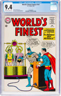 Silver Age (1956-1969):Superhero, World's Finest Comics #147 (DC, 1965) CGC NM 9.4 Off-white...