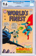 Silver Age (1956-1969):Superhero, World's Finest Comics #153 (DC, 1965) CGC NM+ 9.6 Off-white towhite pages....