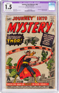 Silver Age (1956-1969):Superhero, Journey Into Mystery #83 (Marvel, 1962) CGC Apparent FR/GD 1.5Slight (C-1) Cream to off-white pages....