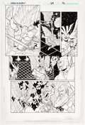 Original Comic Art:Panel Pages, Chris Batista and Cam Smith Hawkman #49 Story Page 12Original Art (DC, 2006)....