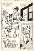 Original Comic Art:Panel Pages, Mike Sekowsky (attributed) Falling in Love #142 Story Page 1Original Art (DC, 1973)....