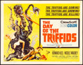 """Movie Posters:Science Fiction, The Day of the Triffids (Allied Artists, 1962). Half Sheet (22"""" X 28"""") Joseph Smith Artwork. Science Fiction.. ..."""