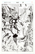Original Comic Art:Splash Pages, Bruce Zick and Mike DeCarlo Thor #463 Splash Page 8 OriginalArt (Marvel, 1993)....