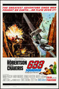 """Movie Posters:War, 633 Squadron & Other Lot (United Artists, 1964). Folded, Overall: Very Fine-. One Sheets (4) (27"""" X 41""""). Donald E. Smith Ar... (Total: 4 Items)"""