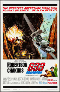 "633 Squadron & Other Lot (United Artists, 1964). Folded, Overall: Very Fine-. One Sheets (4) (27"" X 41""..."