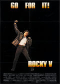"Movie Posters:Sports, Rocky V & Other Lot (MGM/UA, 1990). German A1 (23"" X 33.25"") & Belgian (14"" X 21""). Sports.. ... (Total: 2 Items)"