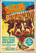 "Movie Posters:Adventure, Frontier Rangers & Other Lot (MGM, 1959). Australian One Sheets (2) (27"" X 40""). Adventure.. ..."