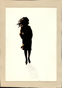 An Unmarried Woman by Michelangelo Papuzza (20th Century Fox, 1978). Signed Original Ink and Watercolor Concept Artwork...