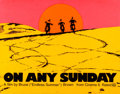 Movie Posters:Documentary, On Any Sunday (Cinema 5, 1971). Silk Screen Day-Gl...