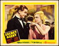 "Movie Posters:Hitchcock, Secret Agent (Gaumont, 1936). Lobby Card (11"" X 14..."