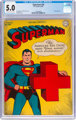 Superman #34 (DC, 1945) CGC VG/FN 5.0 Off-white to white pages