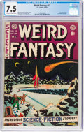 Golden Age (1938-1955):Science Fiction, Weird Fantasy #12 (EC, 1952) CGC VF- 7.5 Off-white to whitepages....