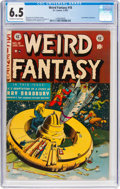 Golden Age (1938-1955):Science Fiction, Weird Fantasy #18 (EC, 1953) CGC FN+ 6.5 Off-white to whitepages....