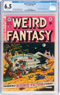 Golden Age (1938-1955):Science Fiction, Weird Fantasy #20 (EC, 1953) CGC FN+ 6.5 White pages....