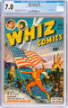 Whiz Comics #44 (Fawcett Publications, 1943) CGC FN/VF 7.0 Cream to off-white pages