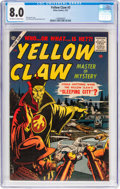 Silver Age (1956-1969):Superhero, The Yellow Claw #3 (Atlas, 1957) CGC VF 8.0 Off-white to w...
