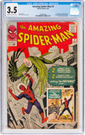 Silver Age (1956-1969):Superhero, The Amazing Spider-Man #2 (Marvel, 1963) CGC VG- 3.5 Cream tooff-white pages....