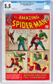 The Amazing Spider-Man #4 (Marvel, 1963) CGC FN- 5.5 Off-white pages