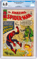 The Amazing Spider-Man #5 (Marvel, 1963) CGC FN 6.0 Off-white pages