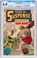 Silver Age (1956-1969):Superhero, Tales of Suspense #40 (Marvel, 1963) CGC FN 6.0 Off-white to whitepages....