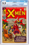 Silver Age (1956-1969):Superhero, X-Men #2 (Marvel, 1963) CGC FN- 5.5 Cream to off-white pages....