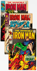 Silver Age (1956-1969):Superhero, Iron Man Group (Marvel, 1968-74) Condition: Average VG/FN....(Total: 43 Comic Books)