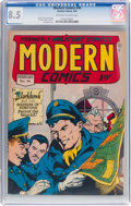 Golden Age (1938-1955):War, Modern Comics #46 (Quality, 1946) CGC VF+ 8.5 Off-white to whitepages....