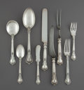 Silver & Vertu:Flatware, A Seventy-Five Piece Gorham Chantilly Pattern Silver Flatware Service, Providence, Rhode Island, designed 1895. ... (Total: 75 Items)