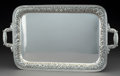 Silver & Vertu:Hollowware, A Manchester Silver Co. Silver Two-Handled Tray, Providence, Rhode Island, circa 1920. Marks: HAND CHASED, (cross with c...