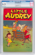 Golden Age (1938-1955):Humor, Little Audrey #1 (St. John, 1948) CGC FN+ 6.5 Cream to off-white pages....