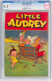 Little Audrey #1 (St. John, 1948) CGC FN+ 6.5 Cream to off-white pages