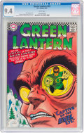 Silver Age (1956-1969):Superhero, Green Lantern #53 (DC, 1967) CGC NM 9.4 White pages....