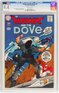 Silver Age (1956-1969):Superhero, Hawk and the Dove #3 (DC, 1969) CGC NM 9.4 Off-white pages....