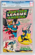 Silver Age (1956-1969):Superhero, Justice League of America #32 (DC, 1964) CGC NM+ 9.6 Off-whitepages....