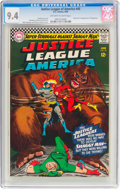 Silver Age (1956-1969):Superhero, Justice League of America #45 (DC, 1966) CGC NM 9.4 Off-white towhite pages....