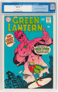 Silver Age (1956-1969):Superhero, Green Lantern #61 (DC, 1968) CGC NM 9.4 Off-white pages....