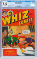 Whiz Comics #65 (Fawcett Publications, 1945) CGC VF- 7.5 Off-white to white pages