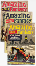 Silver Age (1956-1969):Science Fiction, Amazing Adult Fantasy #10, 11, and 13 Group (Marvel, 1962) Condition: Average VG/FN.... (Total: 3 Comic Books)