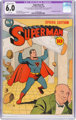 Superman #4 (DC, 1940) CGC Apparent FN 6.0 Extensive (B-5) White pages