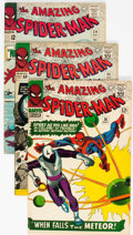 Silver Age (1956-1969):Superhero, The Amazing Spider-Man Group of 4 (Marvel, 1965-66) Condit...
